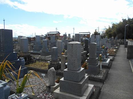 羽島市営 堀津墓地の画像1