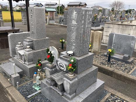 羽島市営 一色墓地_3