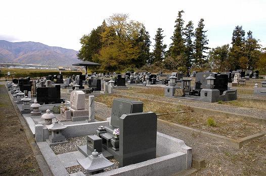 南箕輪村営 泉の森墓地公園_1