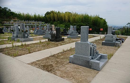 木津川市市営墓地 思いでの丘霊園 の画像