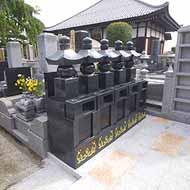 廣済寺 永代供養墓・樹木葬永代供養付個別墓 「冥福五輪塔」