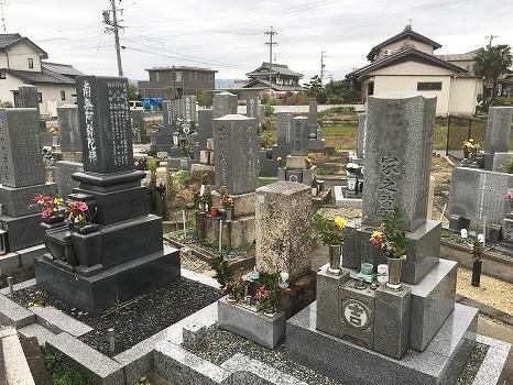 羽島市営 曲利区共同墓地_2