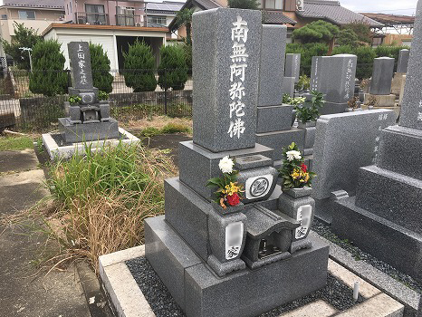 羽島市営 曲利区共同墓地_3