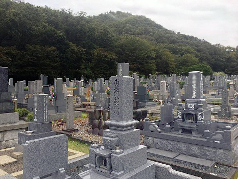 各務原市営 公園墓地 瞑想の森_0