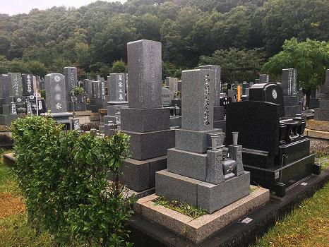 各務原市営 公園墓地 瞑想の森_3