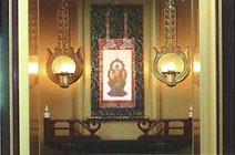 妙力寺 仏壇付納骨壇仏壇付墓所 納骨仏壇