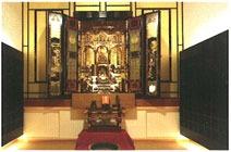 妙力寺 仏壇付納骨壇合祀供養