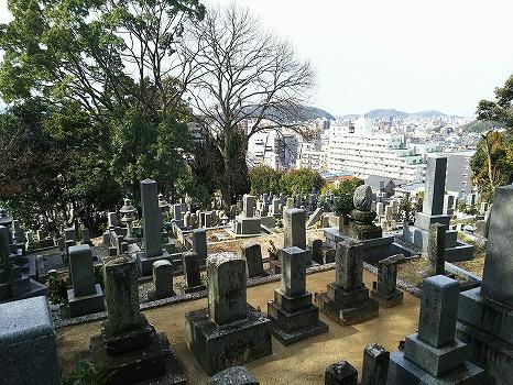 松山市営 鷺谷墓地_0
