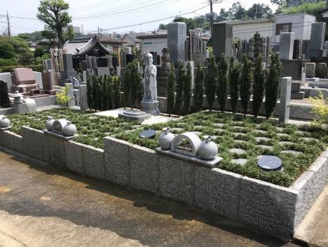 多摩稲城やすらぎ樹木葬墓地の画像1