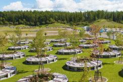真駒内滝野霊園 樹木葬「さくらガーデン」の画像1