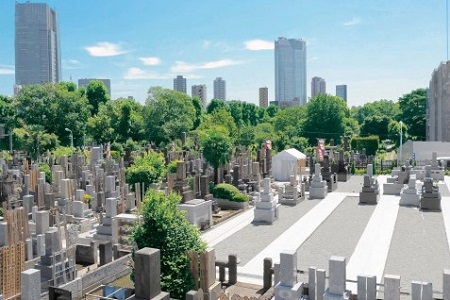 青山墓苑の画像