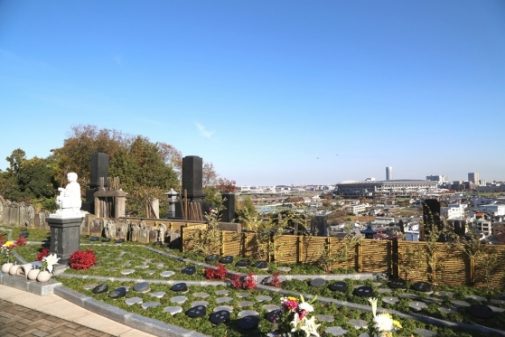 新横浜樹木葬墓地の画像1