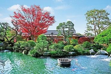 日本庭園陵墓 紅葉亭の画像7