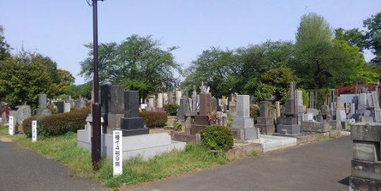 都立 染井霊園の画像トップ