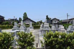 明楽寺 高柳墓地の画像1