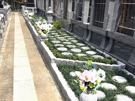 別所のさくら樹木葬墓地の画像1