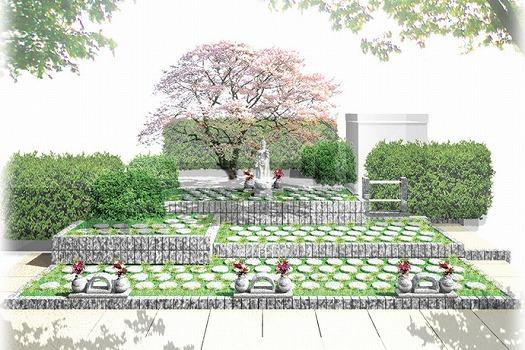 横須賀衣笠樹木葬墓地の画像1
