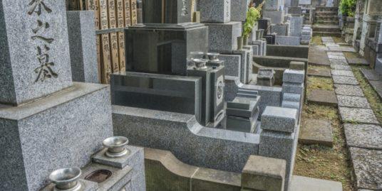お墓の外柵イメージ1