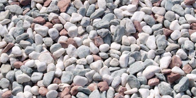 お墓に敷く砂利のイメージ1