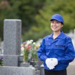 お墓の清掃代行サービスのイメージ1