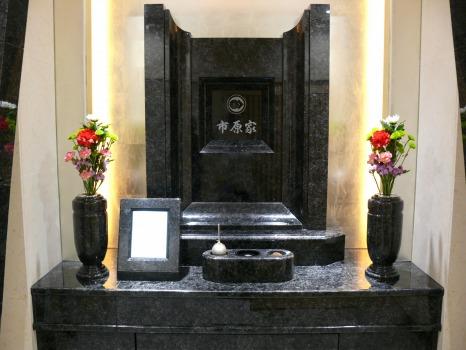 白山御廟3階個別参拝室 法界(ほうかい)