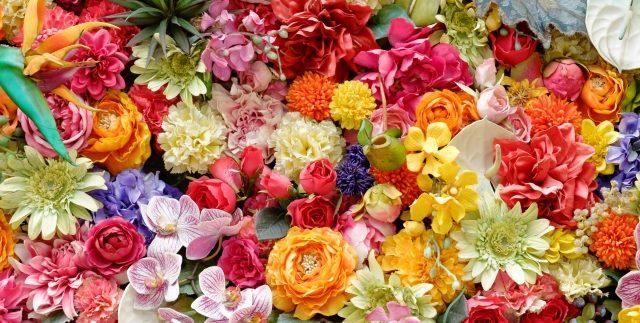 花の彫刻イメージ1