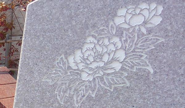 花の彫刻イメージ6