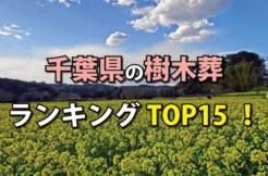 千葉県の樹木葬人気ランキングTOP15!お墓の費用・資料請求