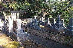 海蔵寺墓苑の画像1